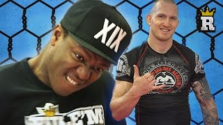 KSI's MMA with a Sledgehammer?! - Drills   Rule'm Sports