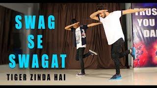 Swag se swagat song Dance Choreography   Tiger Zinda Hai   Vicky Patel