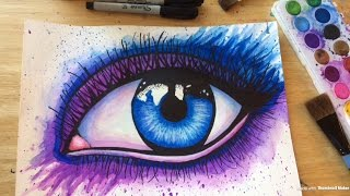 Painting an Eye w/ Watercolor