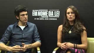 Paolla Oliveira e Mateus Solano - Em Nome da Lei na TV Blog HCNOAR