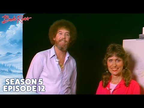 Bob Ross - Indian Girl (Season 5 Episode 12)