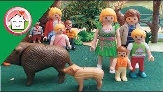رحلة الحضانة إلى الملعب - عائلة عمر - أفلام بلاي موبيل للأطفال
