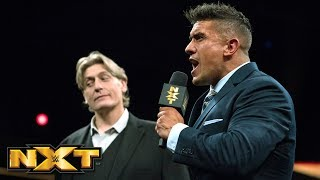 EC3 interrupts William Regal's NXT North American Title announcement: WWE NXT, March 28, 2018