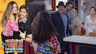 ¡Audifaz se entera que Aris y Temo son novios! | Mi marido tiene más familia - Televisa