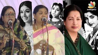 Jayalalitha's daughter Gossips explained by yesteryear Actress Sheela   Sachu, Kutty padmini