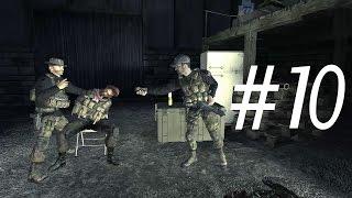 Call of Duty 4 Modern Warfare Walkthrough Gameplay Part 10 Campaign Mission 10 [ Safehouse ]