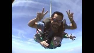 Cathy Skydive Video