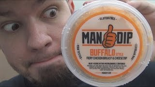 The Perfect Dip!!! (Man Dip Buffalo Style Fiery Chicken Breast & Cheese Dip)