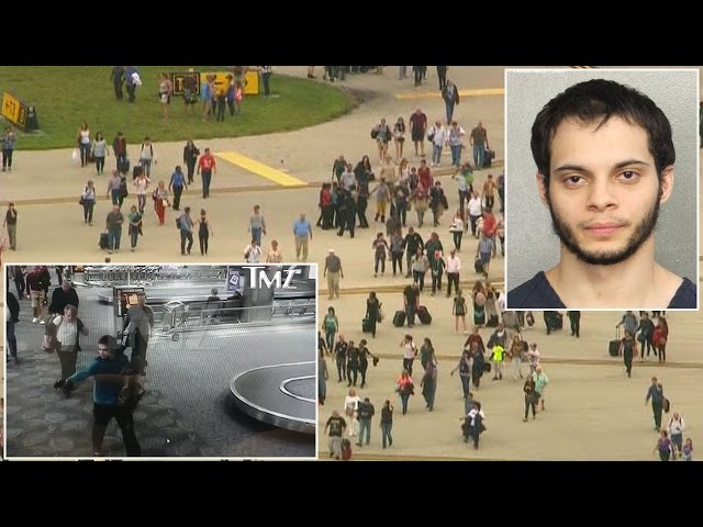Video Shows Terrifying Moment Fort Lauderdale Airport Gunman Opened Fire