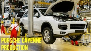 Porsche Cayenne and Porsche Panamera Production