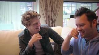 Ninjago Zane interviews Morro (Andrew Francis) part two - the real voice actors!