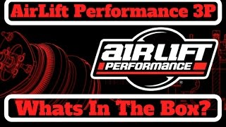Airlift Performance 3P - What's in the box?