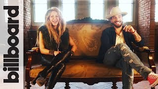 Shakira & Maluma Discuss Bringing Kids On Tour, Soccer & More!   Billboard