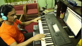shahidul islam khokon playing song akta mon
