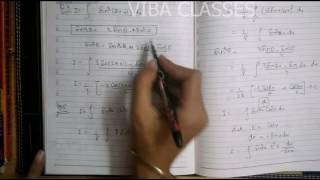 INTEGRATION EXERCISE 7.3 CLASS XII CBSE NCERT SOLUTION