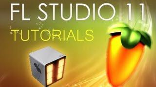FL Studio 11 - Tutorial for Beginners [COMPLETE]
