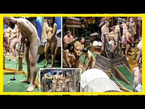 Xxx Mp4 Breaking News Nearly 50 Australians Play Mini Golf Naked To Set World Record 3gp Sex