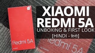 Xiaomi Redmi 5A: Unboxing | Hands on | Price [Hindi-हिन्दी]