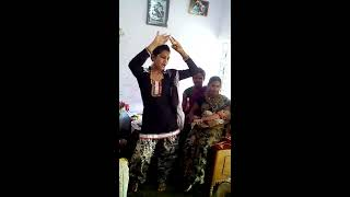 Hijra dancing after child birth..