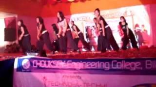 Dance from GEC girls bilaspur (C.G.)