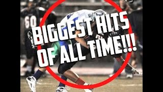 BIGGEST HIGH SCHOOL FOOTBALL HITS!! || HERE COMES THE BOOM - NELLY