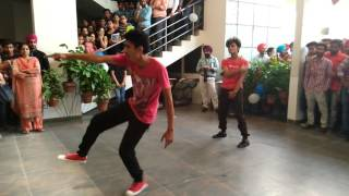PCTE welcome dance by Honey and shubham