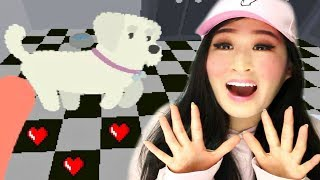 CUTE PUPPY GAME | PET THE PUP AT THE PARTY
