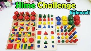 Eğlenceli Oyun! Taşları İlk Dizen Kazanır - Slime Challenge