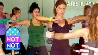 Victoria's Secret Workout with Alessandra Ambrosio