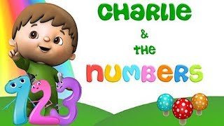 BABY TV LITTLE CHARLIE and The NUMBERS SONGS 1-10 - Learn to count in English ✅ BABYTV Cartoon Songs