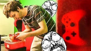 OMG! JELLY PRANK ON BROTHER!!!!