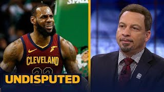 Chris Broussard grades LeBron's performance in Game 1 loss of the Eastern Finals | NBA | UNDISPUTED