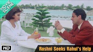 Roshni Seeks Rahul's Help - Movie Scene - Gumrah - Sridevi, Rahul Roy