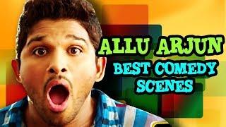 Allu Arjun  movse  fane scene in hindi