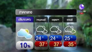 #ลมฟ้าอากาศ พรุ่งนี้ เหนือ-ตอ.-กลาง ⛈ฝนฟ้าคะนองบางพื้นที่ 10%
