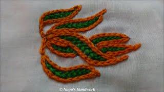 Wine Stitch-Mochi Stitch- Hand Embroidery Tutorials By Nagu's Handwork