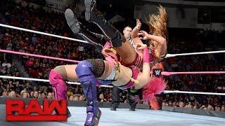 Asuka vs. Emma: Raw, Oct. 23, 2017