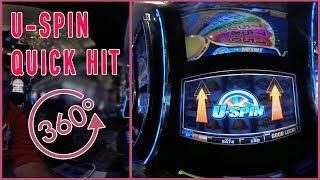 🔄  U-Spin in 360° ✦ Live Play at Cosmopolitan Casino ✦ 360° Slot Machine Pokies EVERY Tuesday