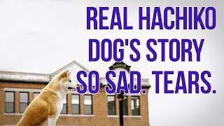 Hachiko A Dog's Story.So sad.Tears