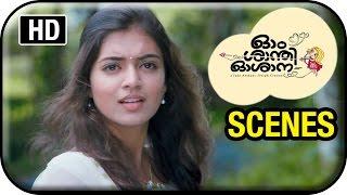 Om Shanti Oshana Movie Scenes HD | Nivin Pauly helps Nazriya Nazim and her parents | Renji Panicker