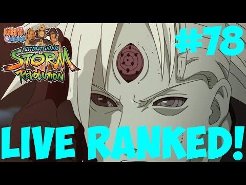 Naruto Storm Revolution: SO CLOSE! Live Ranked Ep.78