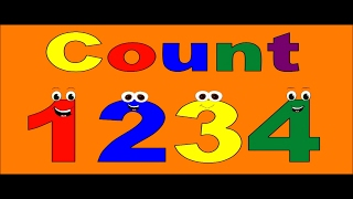 Numbers Counting - Counting 1234 - Counting For Children - Count Numbers