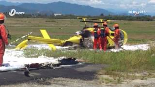 Trainee Pilot Injured In Kota Kinabalu Helicopter Crash