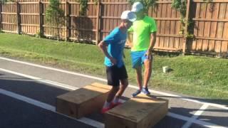 Amaury de Beer - Physical training