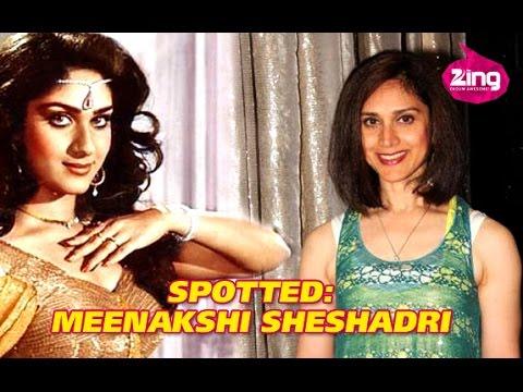 Meenakshi Sheshadri makes her comeback!