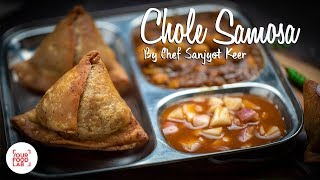 Download Chole Samosa Recipe   Chef Sanjyot Keer