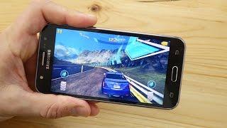 Samsung Galaxy J5 Gaming & Spiele Test (deutsch)