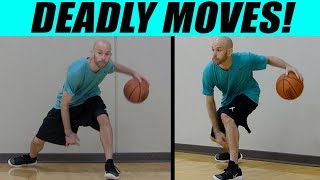8 DEADLY Between Legs Basketball Crossovers! Break Ankles In Basketball