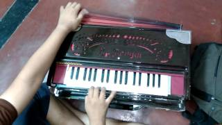 RAGA PILU/KAPI  ON HARMONIUM BY RAGHAVA