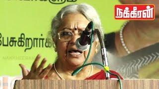 Jayalalitha's opponent candidate Vasanthi devi's Speech in RK Nagar ! | TN Elections 2016